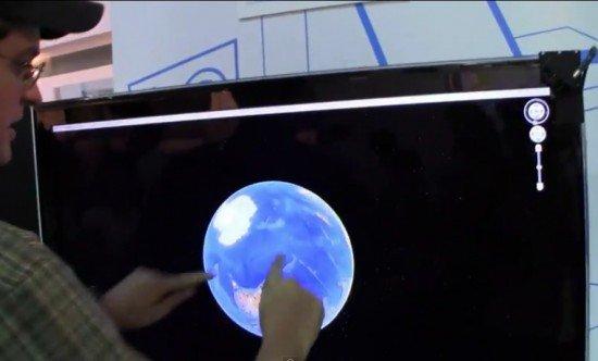 ITRI Touchscreen device