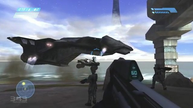 Halo: Combat Evolved Anniversary in Classic Mode