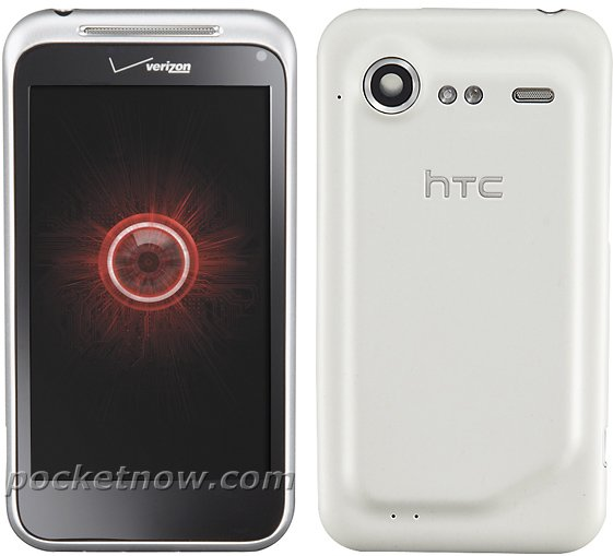 HTC Droid Incredible 2 silver