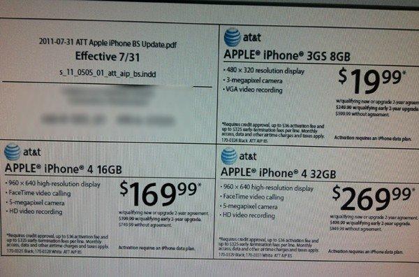 iPhone price drop