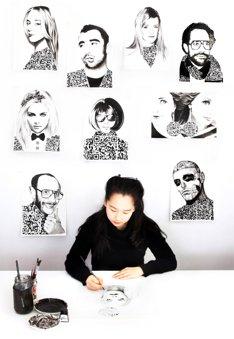 Yiying Lu QR code art