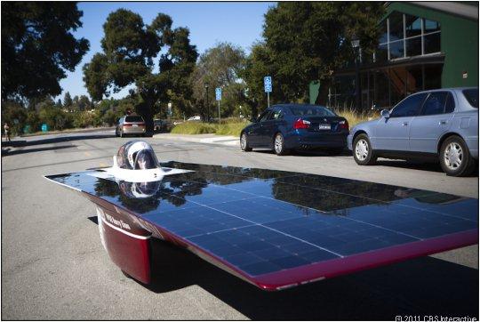 Xenith solar car