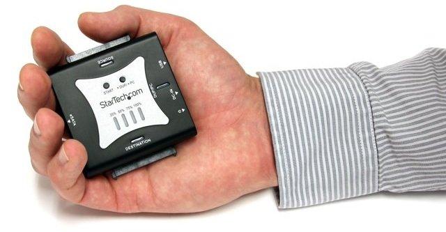 Standalone Portable Hard Drive Duplicator