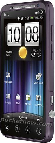 HTC EVO 3D Purple