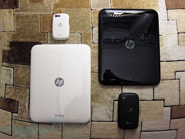 HP webOS devices