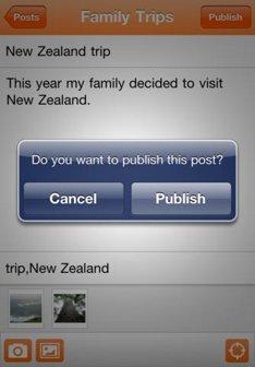 Blogger for iOS