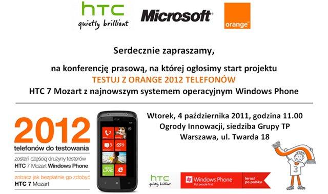 HTC Orange WP7