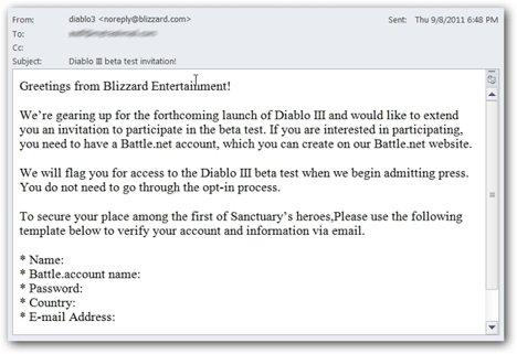 Diablo 3 scam