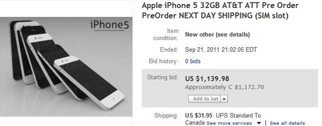 iPhone 5 eBay