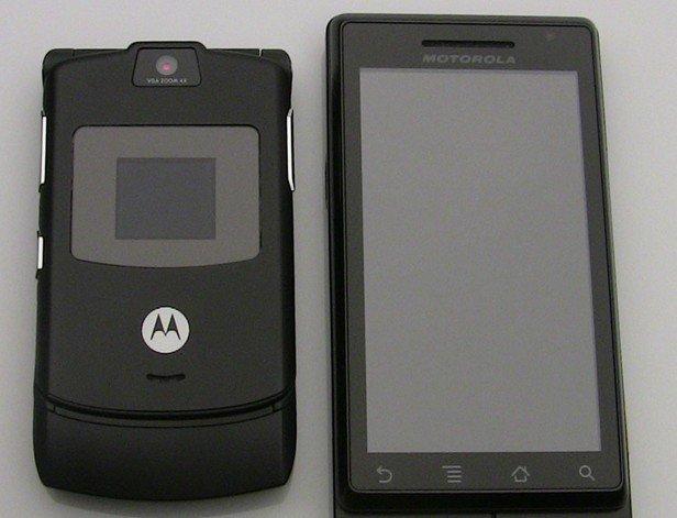 Motorola RAZR and DROID