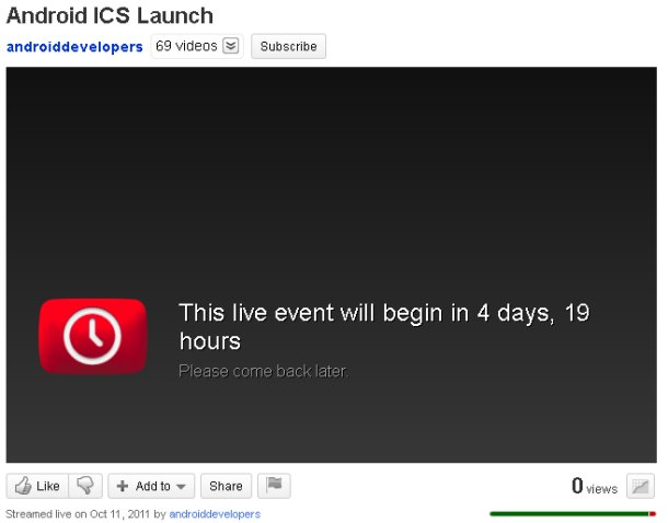 ICS launch video