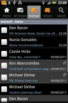 Hotmail app Android
