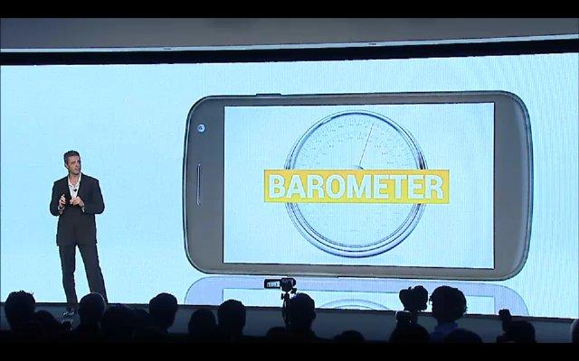 Galaxy Nexus Barometer