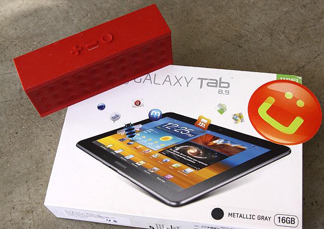 Giveaway Galaxy Tab 8.9, Jambox Speaker