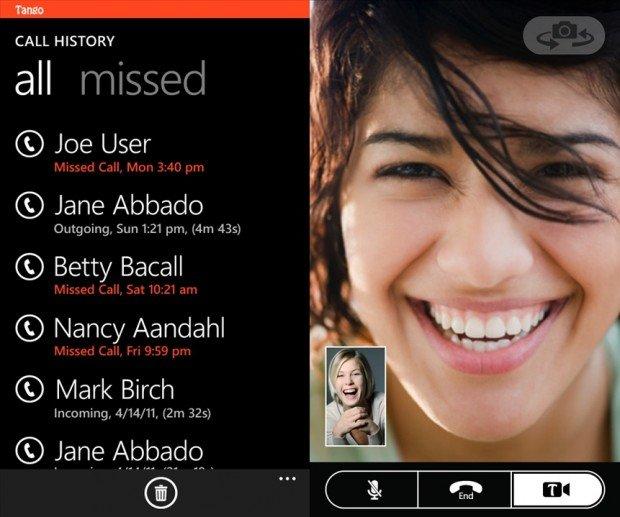 Tango Windows Phone
