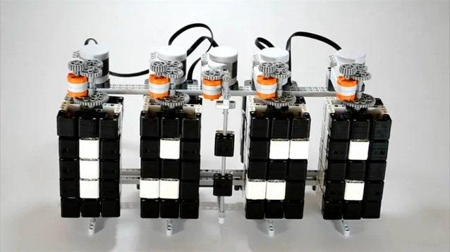 LEGO digital clock