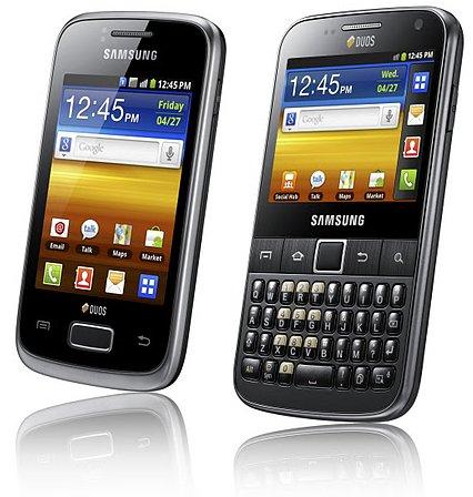 Galaxy Y DUOS and Galaxy Y Pro DUOS