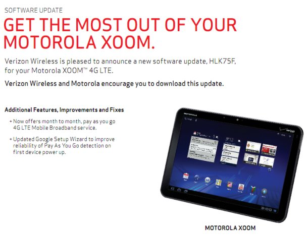 XOOM Update