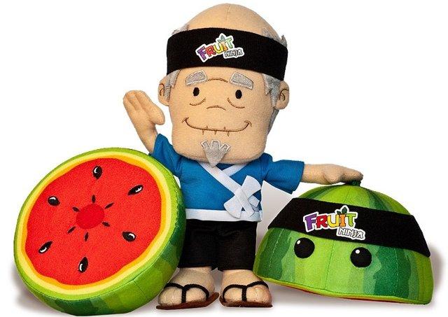 Fruit Ninja plushies