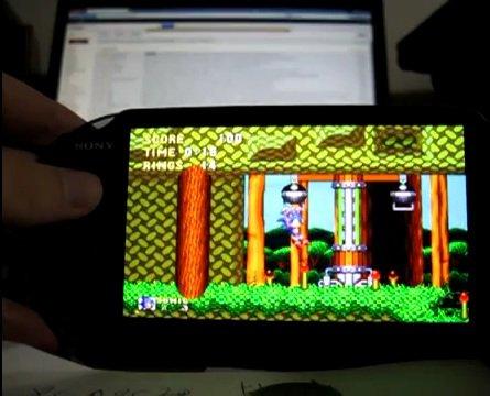 PlayStation Vita runs Sega Genesis games
