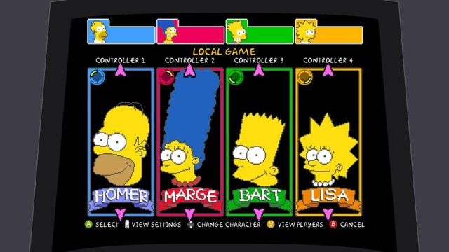 The Simpsons Arcade Game Now On Xbox Live Ubergizmo
