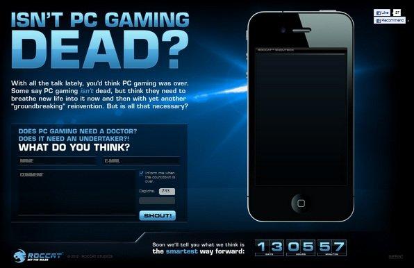 "ROCCAT Studios ""Isn't PC Gaming Dead?"""