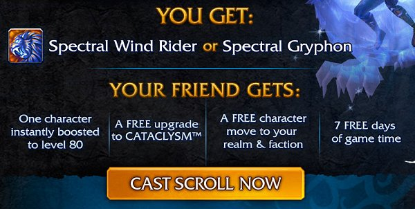 Blizzard offers incentives for WoW players to come back   Ubergizmo