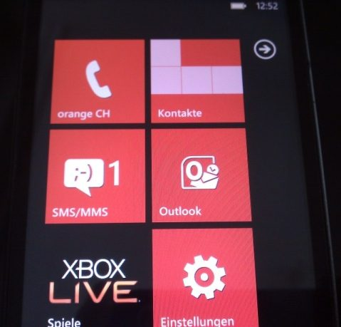 HTC HD2 Windows Phone