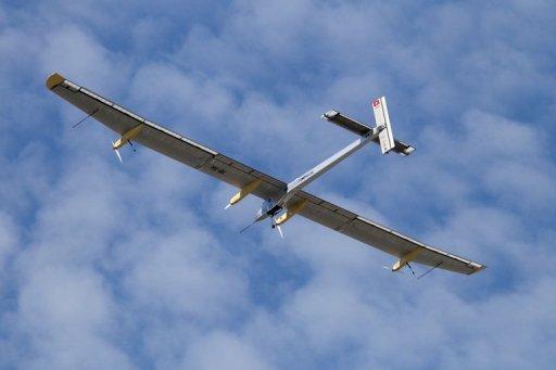 solarpowered plane