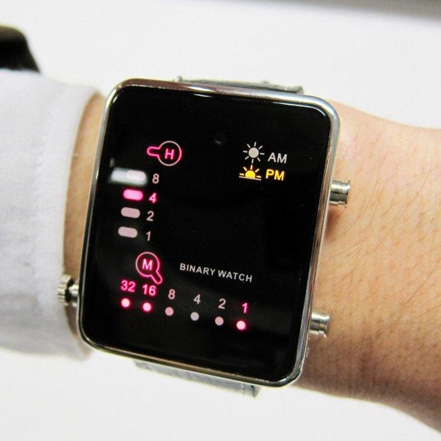 led mini watch