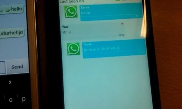 Wazzap! is a Whatsapp port for the Nokia N9 | Ubergizmo