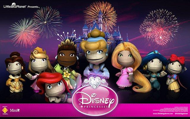 LittleBigPlanet Disney Princesses