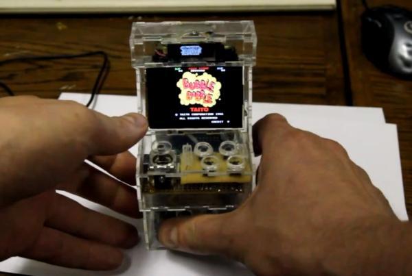 Raspberry Pi Powers Small Arcade Cabinet | Ubergizmo