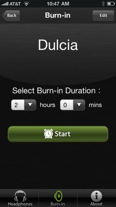 moshi audio burn-in tool