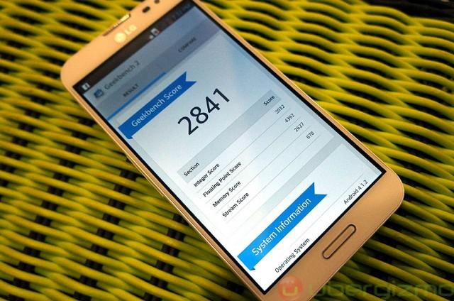 LG Optimus G Pro Benchmarks