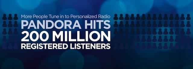 pandora-200-million-users