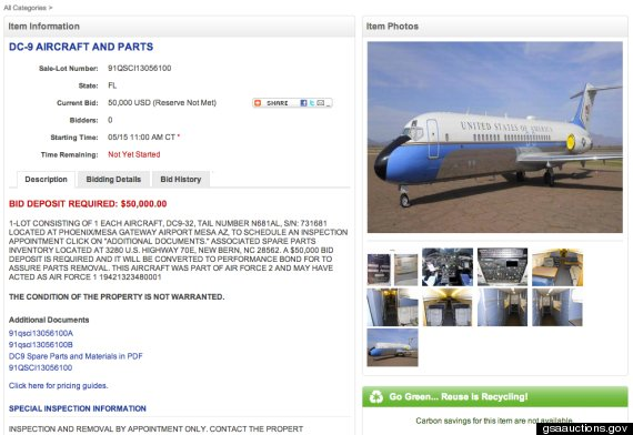 air-force-one-auction