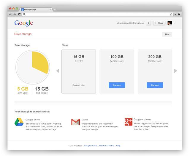google-drive-storage