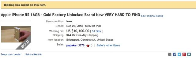 Gold-iPhone-eBay-nuts