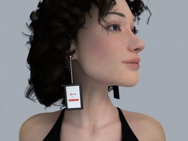 video-earrings