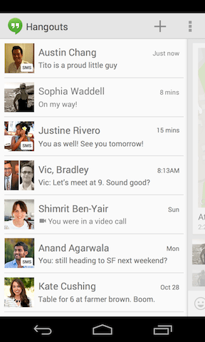 hangouts-sms-support