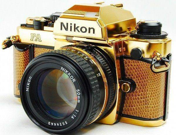 Nikon-FA-limited-edition-gold-film-camera