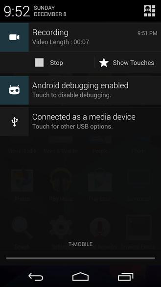 cyanogenmod-screencast