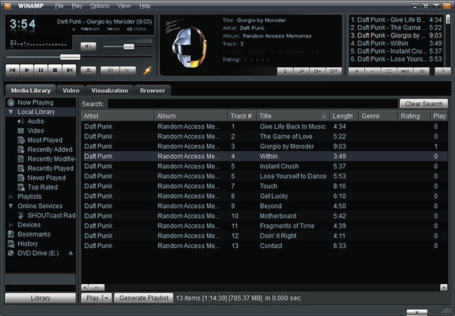 Winamp Lives To Play Another Day | Ubergizmo
