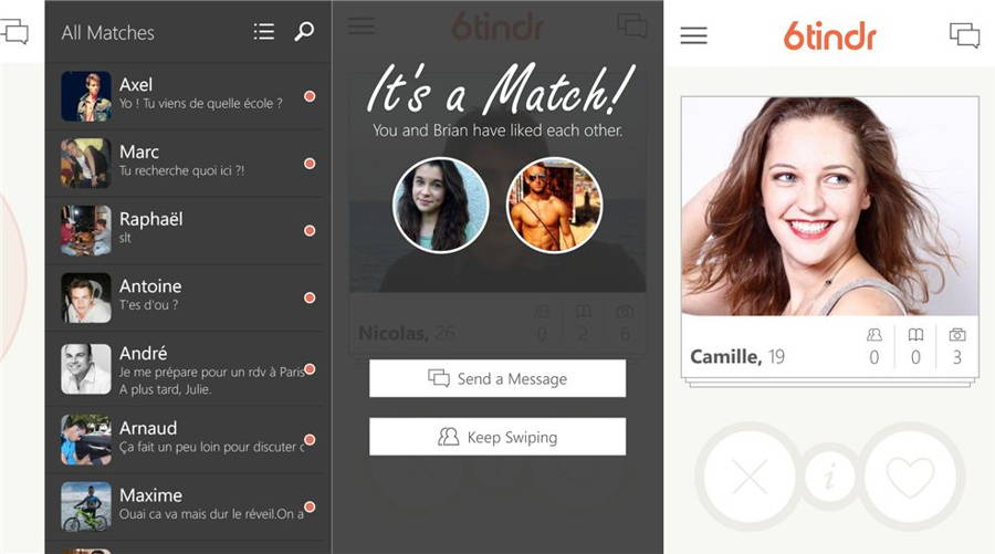Official Tinder App For Windows Phone In The Works | Ubergizmo