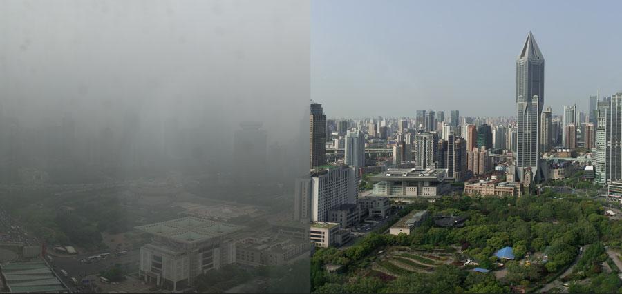 china-shanghai-smog