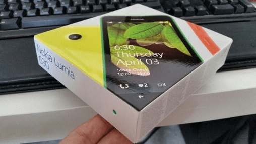 lumia-630-packaging
