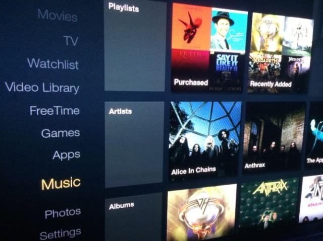 Amazon Fire TV Supports Amazon MP3 | Ubergizmo