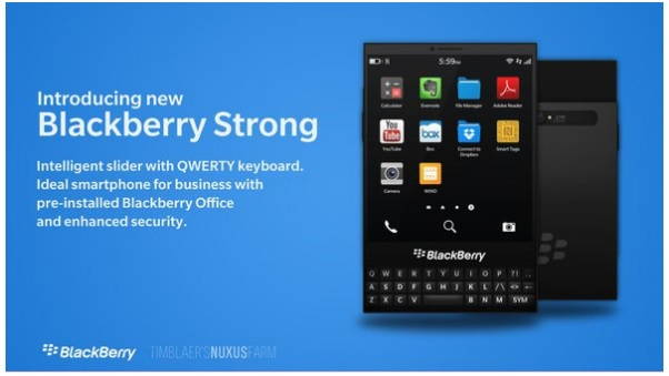 blackberry strong