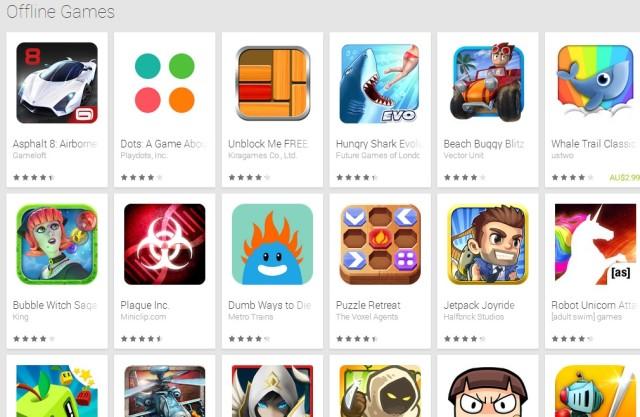 google play offline